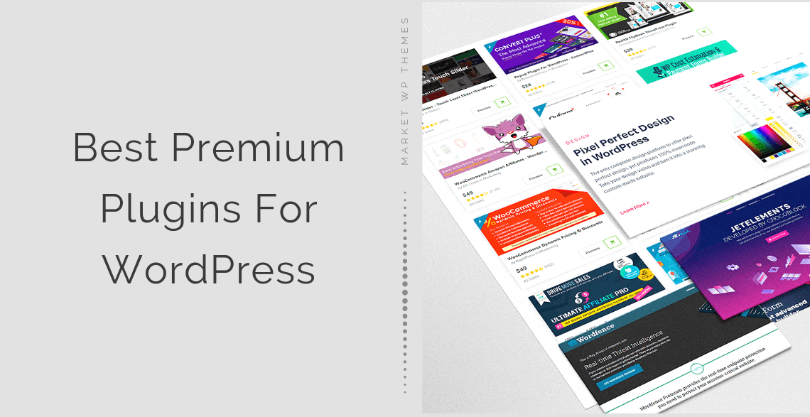 Best Premium Plugins For WordPress