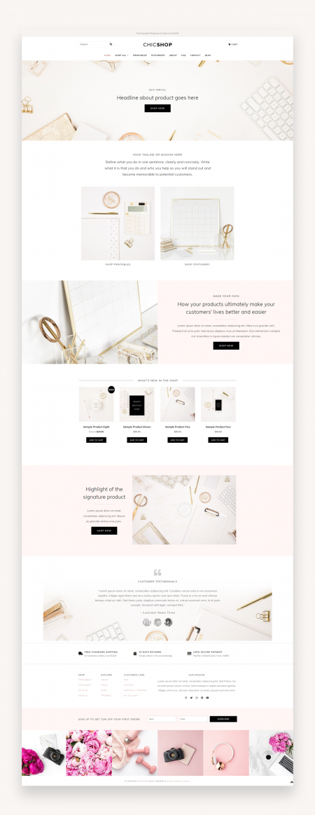 Chicshop - WordPress Theme