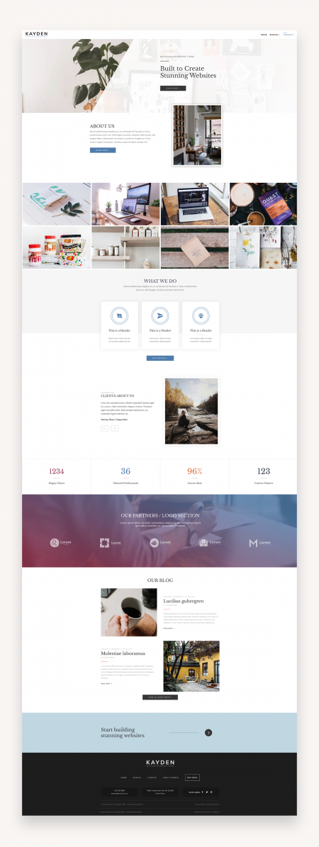 Kayden - Divi Child Theme