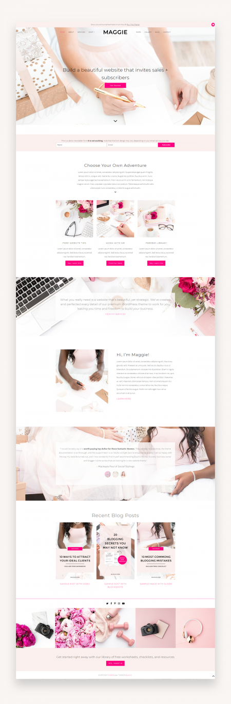 Maggie WordPress Theme