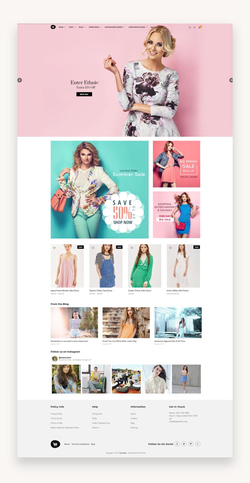 Storebox - eCommerce WordPress Theme