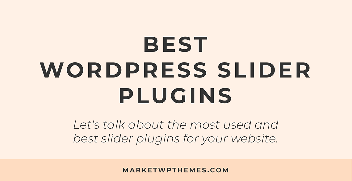 Best WordPress Slider Plugins