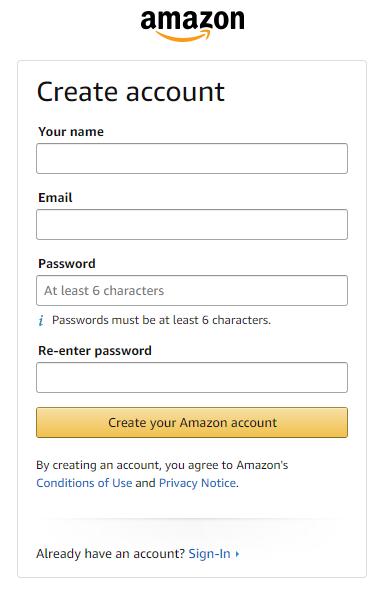 Create A Account 2