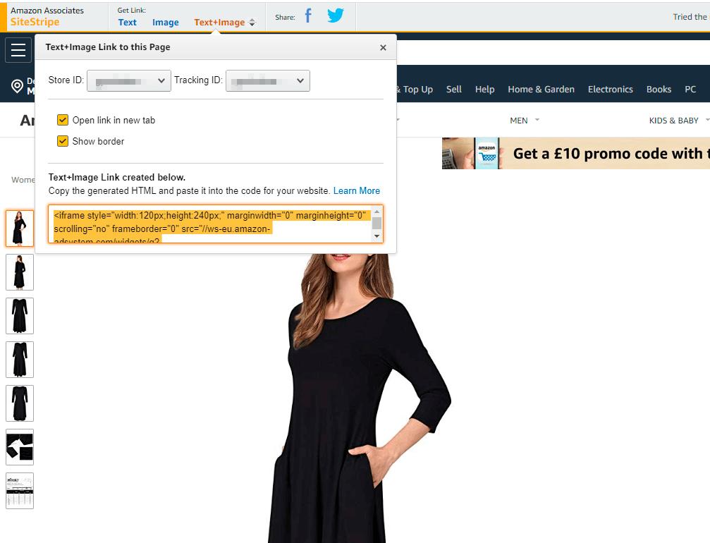 Create Amazon Product 1