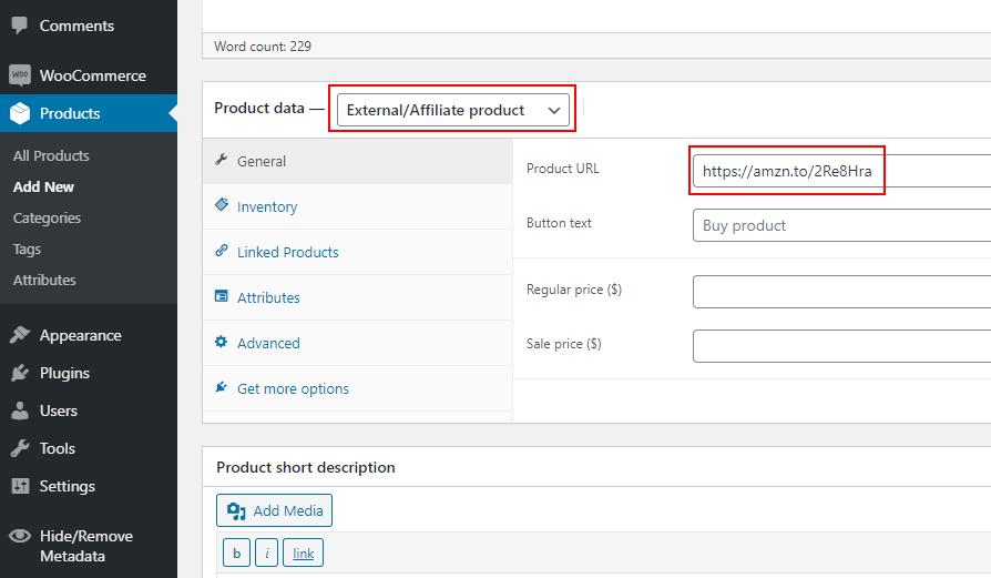 Create Amazon Product 3