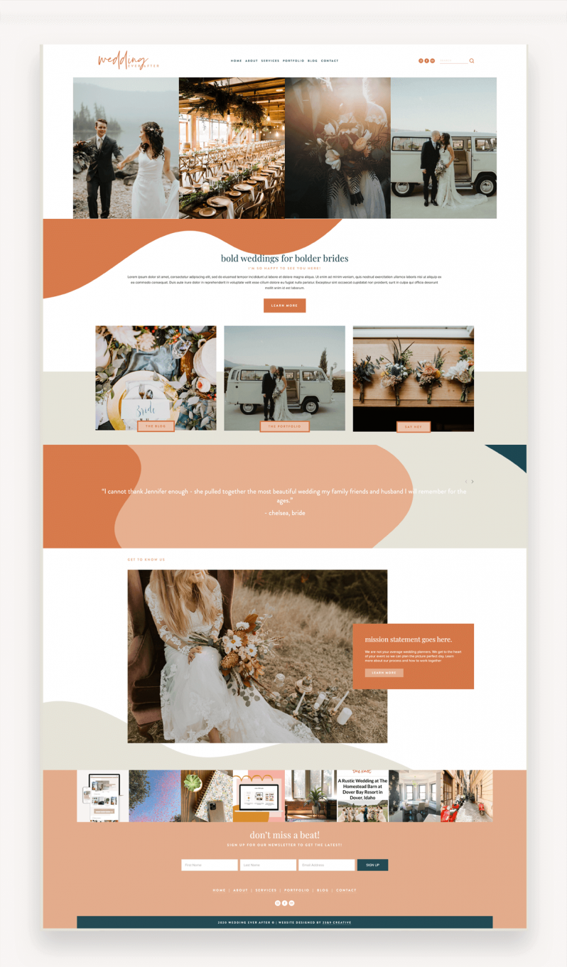 Bold Babe Squarespace Template