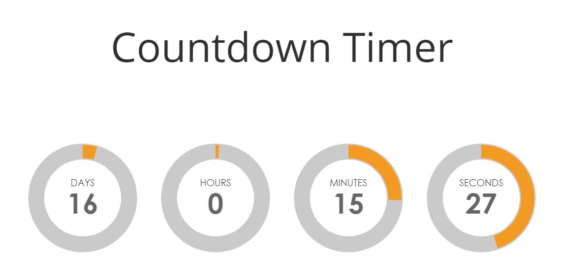 countdown timer - final