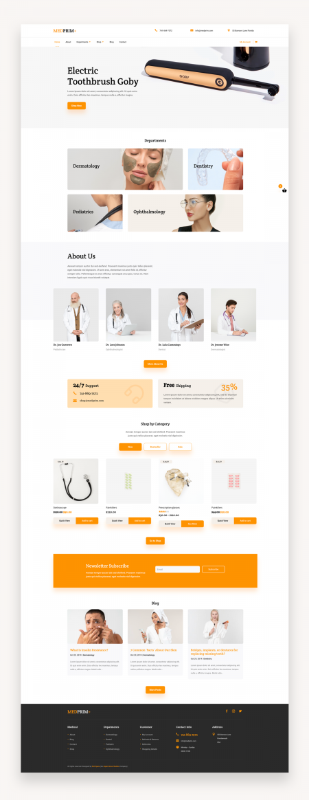 Divi Medical eCommerce