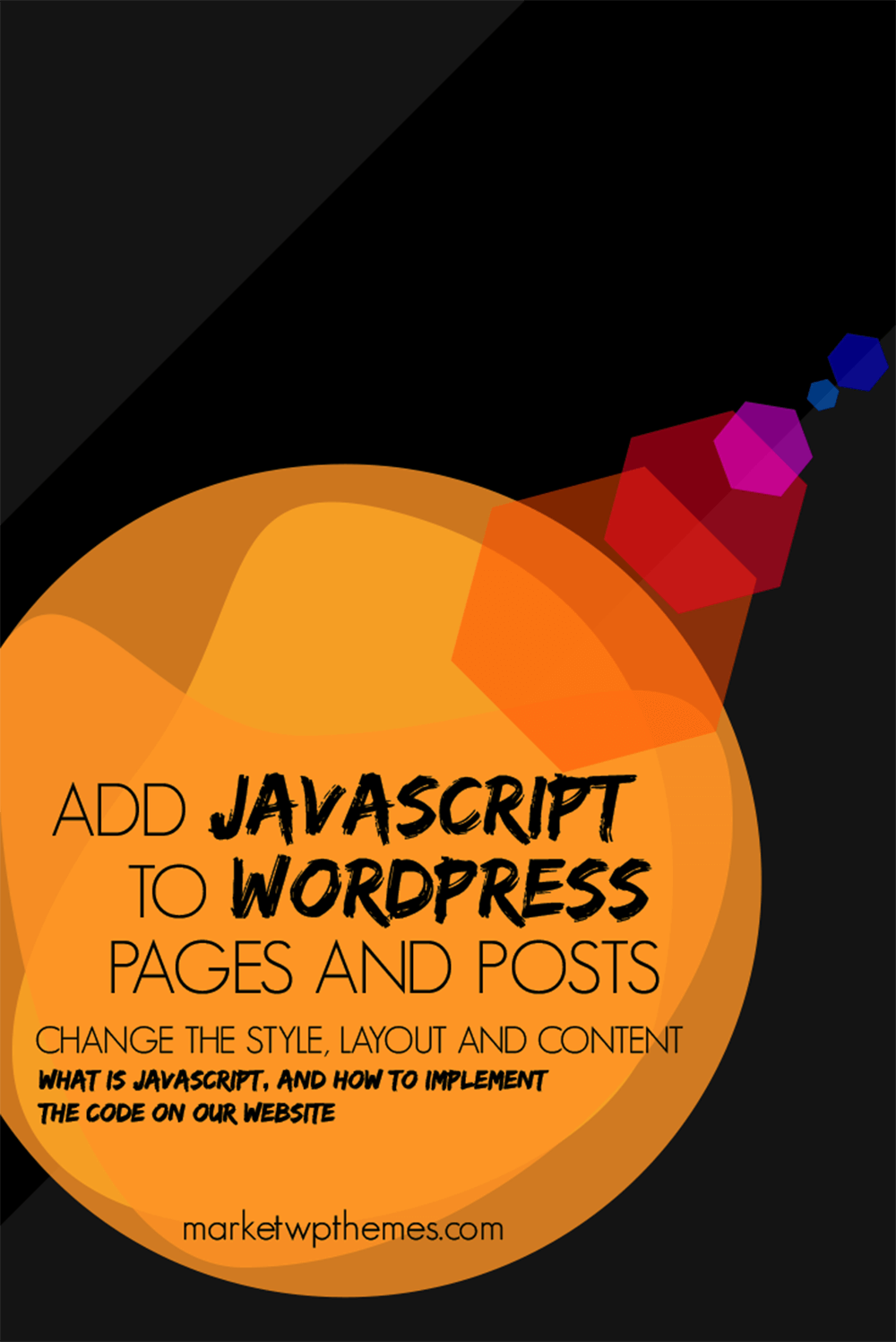 Add JavaScript To WordPress Pages And Posts