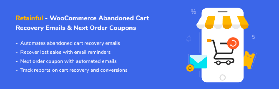 Retainful WooCommerce Abandoned Cart Recovery plugin