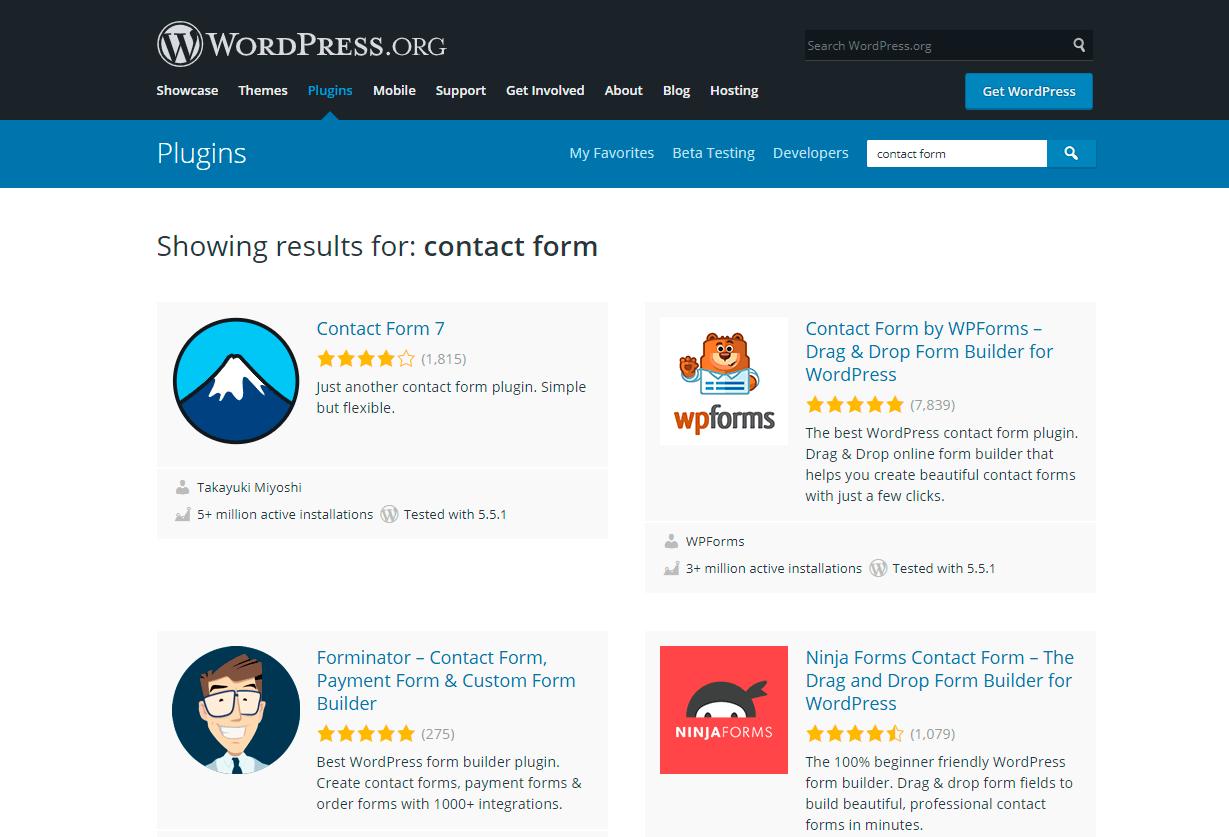 find the best plugin in wordpress