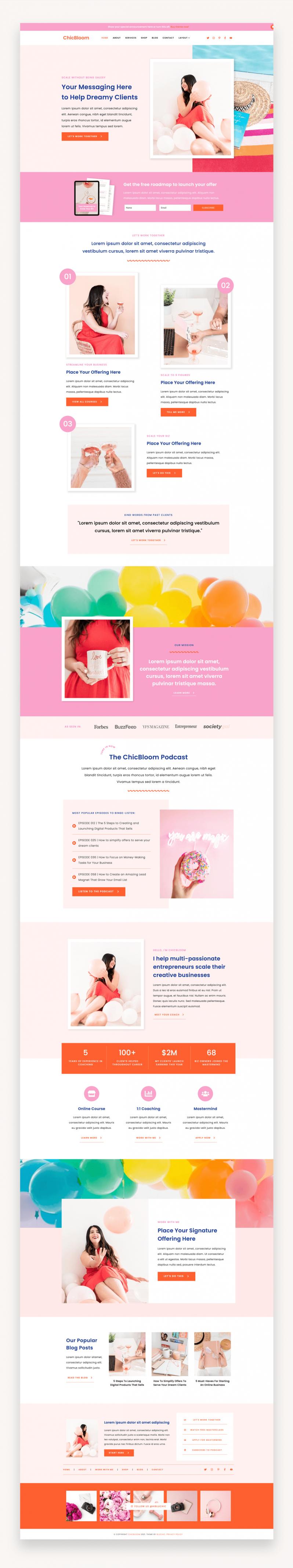 ChicBloom WordPress Theme